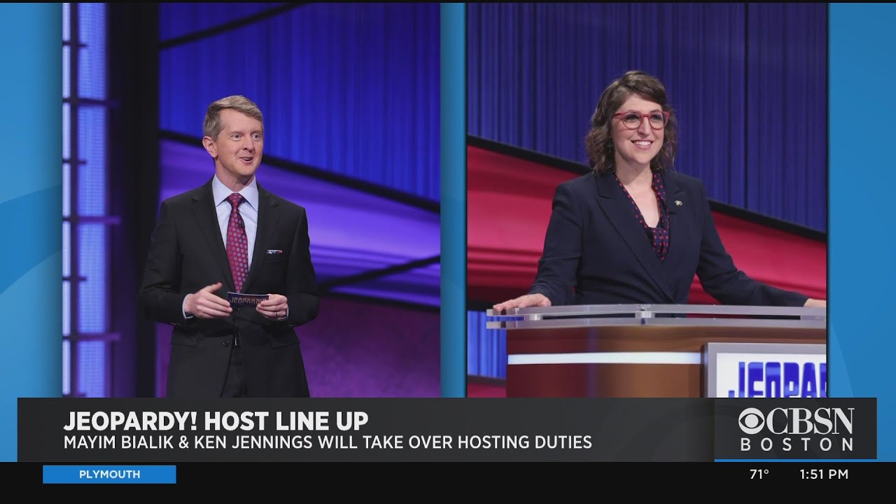"""Mayim Bialik and Ken Jennings will host """"Jeopardy!"""" for the rest of ..."""