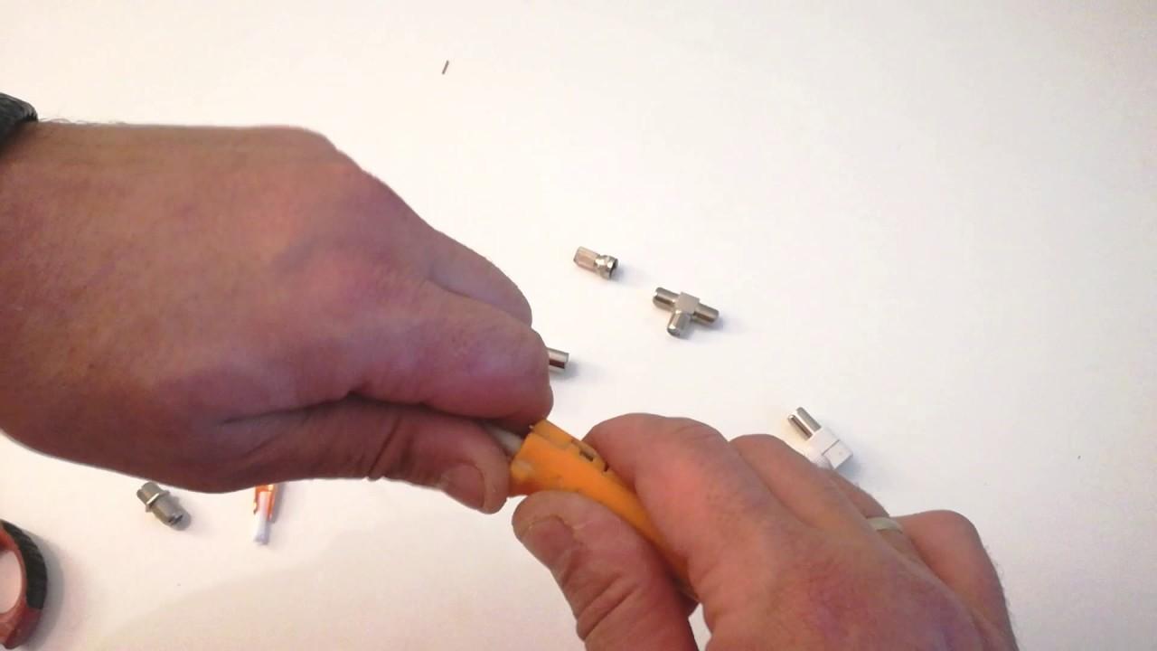 Cómo Hacer Empalmes De Cable De Antena Youtube