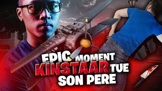 KINSTAAR TUE SON PERE SUR FORTNITE BATTLE ROYALE | EPIC MOMENT