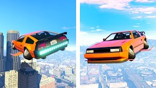 GTA 5 - SERIOUSLY.. A FLYING CAR ONLINE?! (GTA 5 Doomsday DLC)