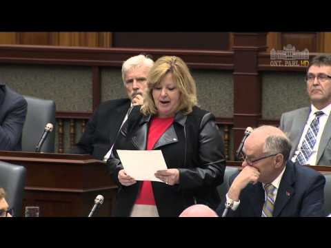 MPP Thompson questions Premier on Ontario's New Pay to Pollute System
