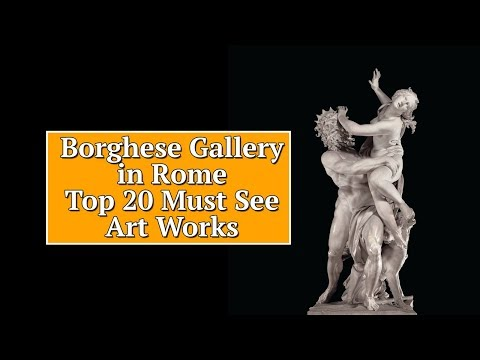 Borghese Gallery in Rome 🇮🇹Top 20 Must See Art Works
