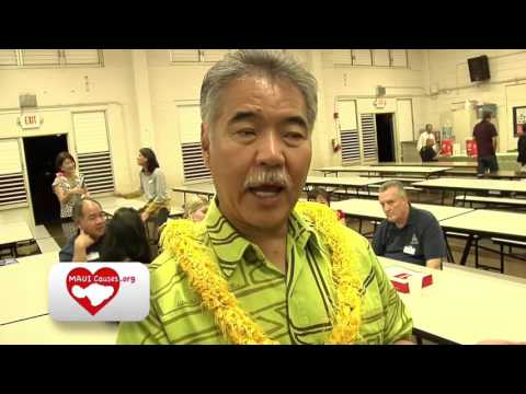 Having Chow Fun with Governor David Ige