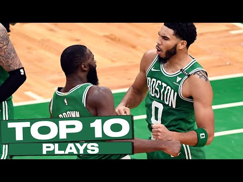 Top 10 Boston Celtics Plays of The Year! ☘