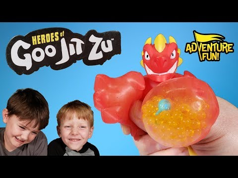 "Heroes Of ""Goo Jit Zu"" Adventure Fun Toy Review!"