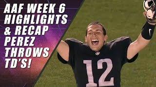AAF Week 6 Recap & Highlights