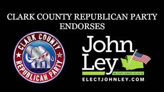 Clark County Republican Party Endorses Ley!