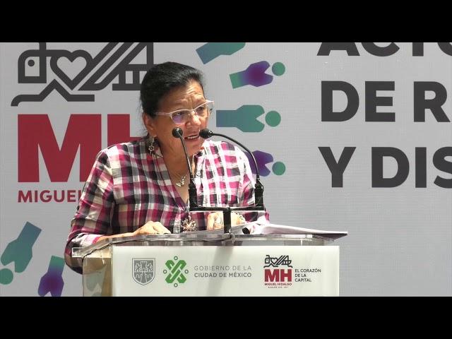 Discurso de Nashieli Ramírez en la Disculpa Pública derivada de la Recomendación 19/2018