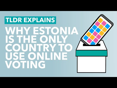 Why Don't We Vote Online in Elections? - TLDR Explains