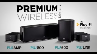 Wireless Speakers from Paradigm   Whole-House Music with DTS Play-Fi