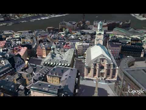 Stockholm 3D in Google Earth