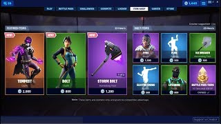 *NEW*Tempest & Bolt Skins! Fortnite Item Shop June 7, 2019