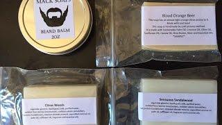 Unboxing Mack Soaps Beard Balm