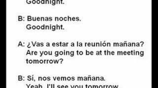 Goodnight In Spanish