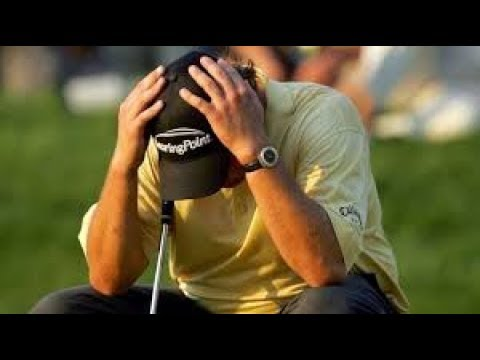 10 Worst Golf Chokes and Collapses, pt 1