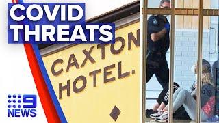 Coronavirus: Two teenagers caught breaching border lockdown | 9 News Australia