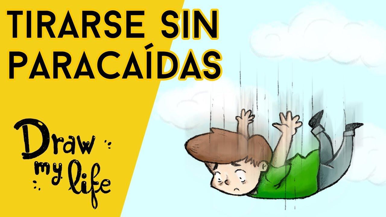 ¿Qué PASA si SALTAS sin PARACAÍDAS? - Draw My Life