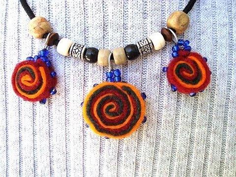 how to make felt beads jewelry making bead making felt