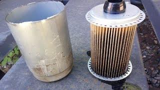 Замена топливного фильтра Ford Transit Connect TDDI