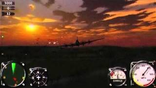Air Conflicts: Aces of World War II (PSP) USAAF Gameplay