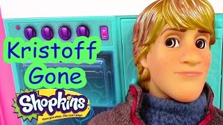 Disney Frozen Kristoff Gone Shopkins Crazy Princess Anna Barbie Doll House Drama