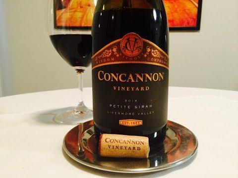 Episode 345: 2014 Concannon Vineyard Petite Sirah, Livermore Valley