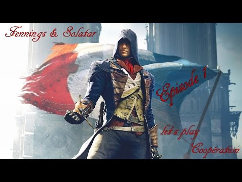 Assassin's creed unity - Gameplay coop - Paris 1790 | Ep. 1
