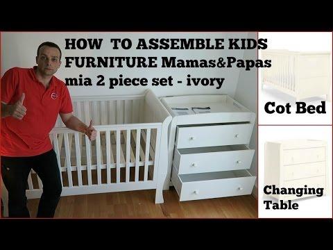 Kids furniture Mamas & Papas mia 2 piece set