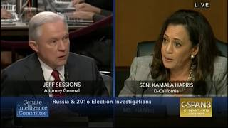 Jeff Sessions snaps at Kamala Harris to let him qualify answer: 'You'll accuse me of lying' Free HD Video