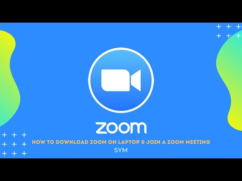 【Zoom tutorial】How do I download Zoom on my laptop & join a Zoom meeting?