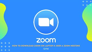 【zoom tutorial】how do i download zoom on my laptop & join a meeting?
