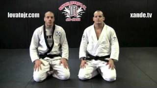 Xande Ribeiro and Rafael Lovato Jr Teach Hand in Collar Attacks from the Guard