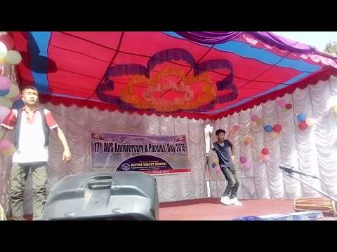 Comedy Performance By Tshering Sherp And Pujan Lama-Alpine Valley School