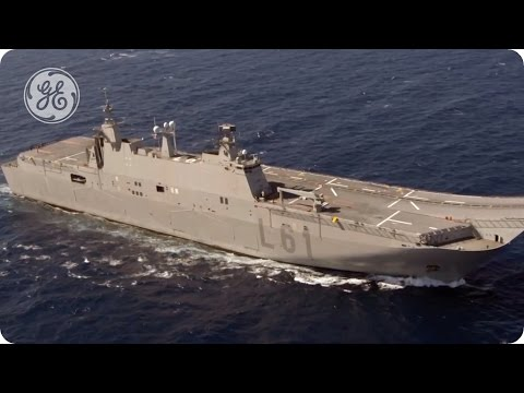 Commercial Ship Propulsion from GE's Marine Solutions