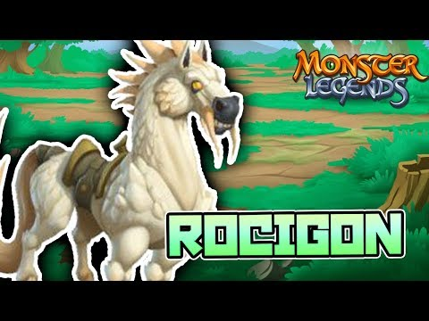 ROCIGON - THE KNIGHTS & CASTLE MAZE - Monster Legends Analisis