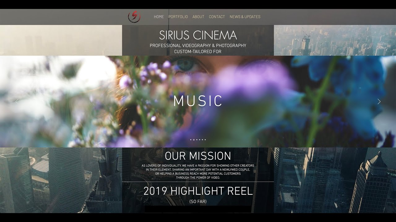 Sirius Cinema 2019 Highlight Reel
