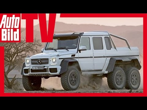 Mercedes releases 6x6 G63 AMG specs and pics [w/video