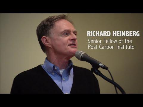 Richard Heinberg:  The Post Growth Economy