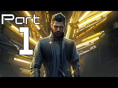 Deus Ex Mankind Divided Gameplay Walkthrough Part 1- Adam Jensen (XBOX ONE / PS4 Gameplay)