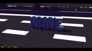 MINECRAFT (CAR) ANIMATION INTRO GIVEAWAY! [CLOSED] [THX FOR 500 SUBS!]