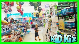 BALLOON SHOPPING with Xander at Party City