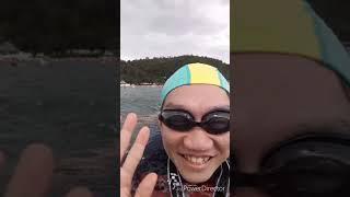 2018/9/16生涯第一次泳渡日月潭