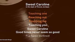 Sweet Caroline - ProTrax Karaoke Demo