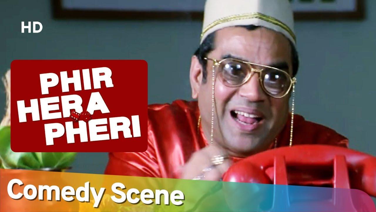 Best Comedy Scene Movie Phir Hera Pheri | Akshay Kumar - Rajpal Yadav - Paresh Rawal - Suniel Shetty