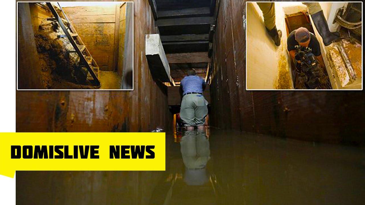 inside el chapo u0026 39 s secret  u0026 hidden tunnel