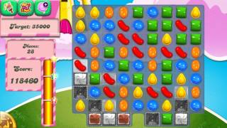Candy Crush Saga Level 290 No Boosters