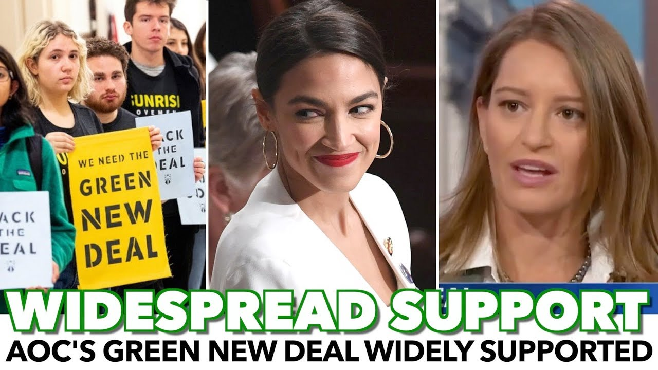 Image result for images of AOC AND GREEN NEW DEAL