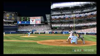 MLB The Show 11 - Curtis Granderson goes yard.