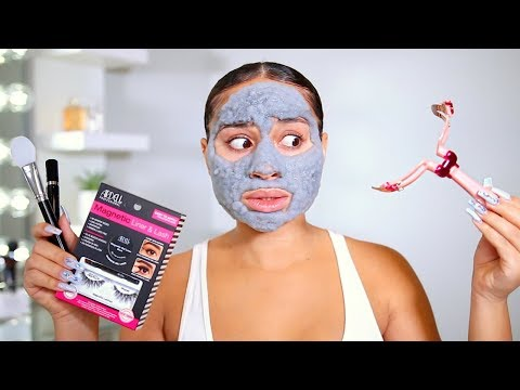 Testing Out Weird Beauty Products...