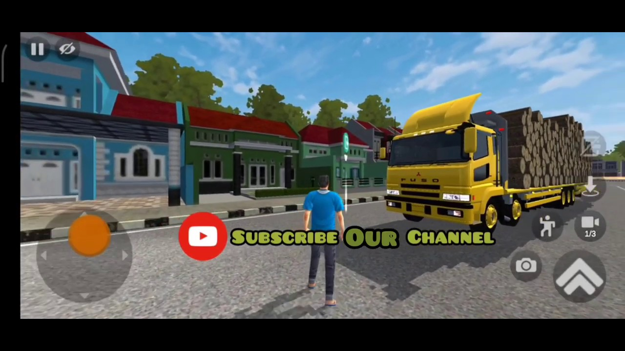 Bus stimulator Indonesia Truck fuso Balak WSP new mode heavy game play plz subscribe Our channel - YouTube